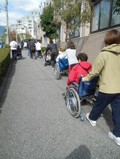 魚崎デイサービス 避難訓練
