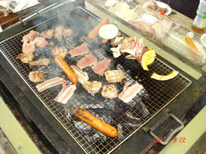 東部デイサービス BBQに行ってきました。