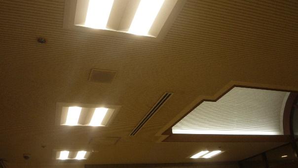 障害者支援施設ワークホーム明友 照明器具LED化工事